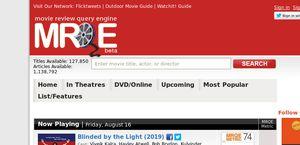 MRQE.com, The Movie Review Query Engine