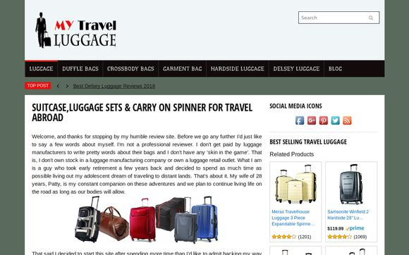 MyTravelLuggage