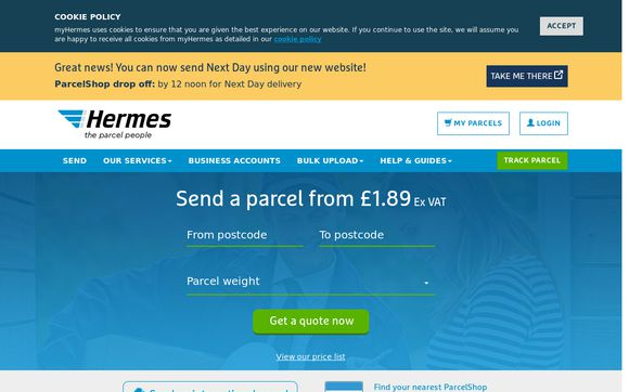 myHermes.co.uk