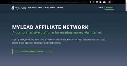 MyLead Affiliate Network