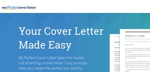 MyPerfectCoverLetter  My Perfect Cover Letter