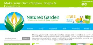 naturesgardencandlescom - Natures Garden Candles
