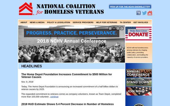 National Coalition For Homeless Veterans