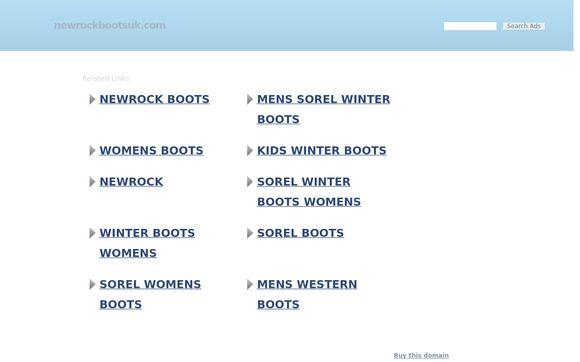 New Rock Boots UK