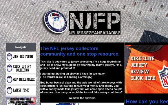NFL Jersey Fan Paradise