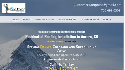 On Point Roofing Inc.