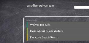 Paradise Wolves