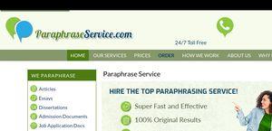 ParaphraseService