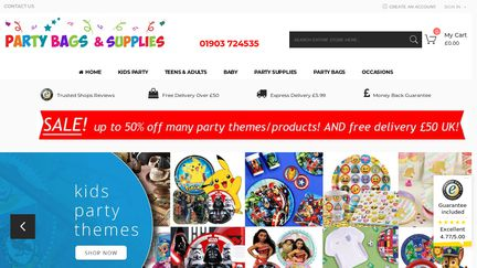 PartyBagsAndSupplies.co.uk