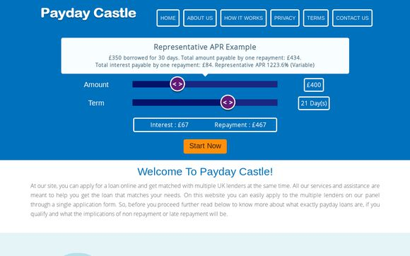 Payday Castle