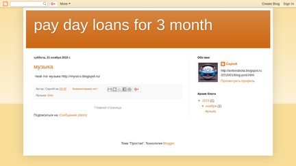 Paydayloansfor3month.blogspot