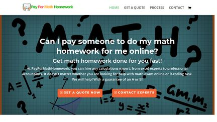 Pay For Math Homework