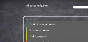 PBE Accounts