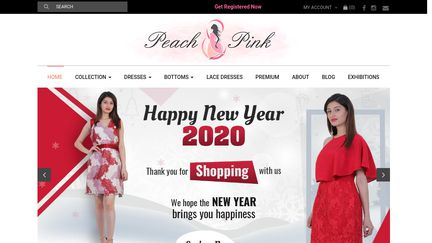Peach And Pink Store