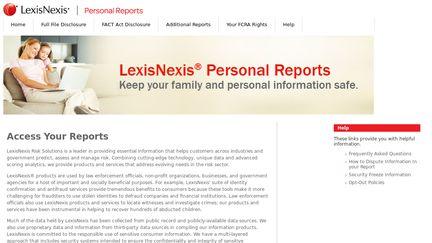 Personalreports.lexisnexis