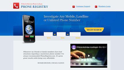 PhoneRegistry