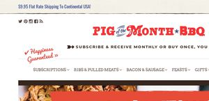 Pig Of The Month