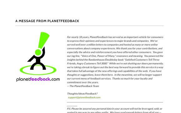 planetfeedback
