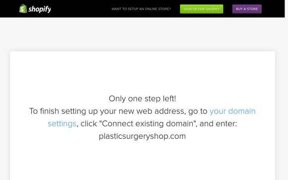 Plasticsurgeryshop.com