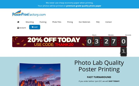Poster Print Factory