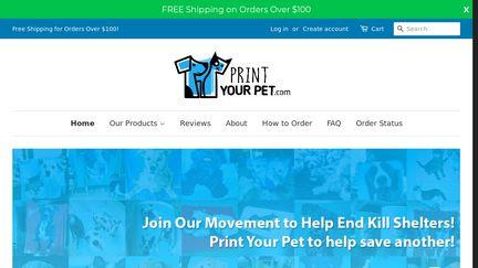 Print Your Pet