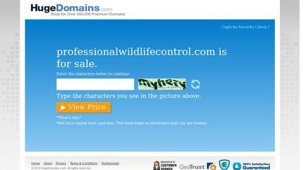 ProfessionalWildlifeControl