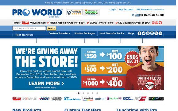 Pro World Inc