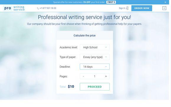 Pro Writing Service