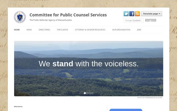 Committee for Public Counsel Services