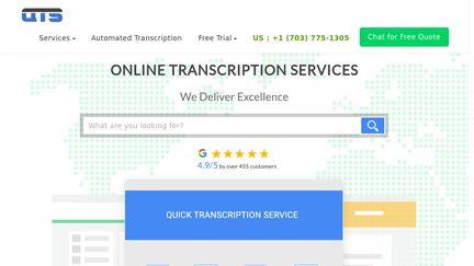 Quicktranscriptionservice.com