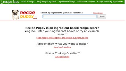 RecipePuppy