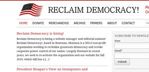 Reclaim Democracy