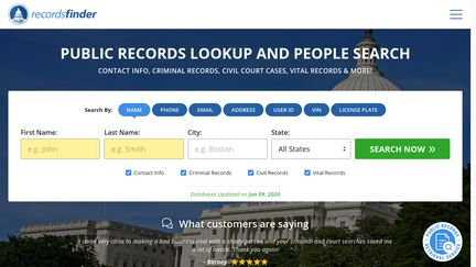 Records Finder