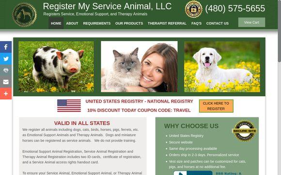 Register My Service Animal