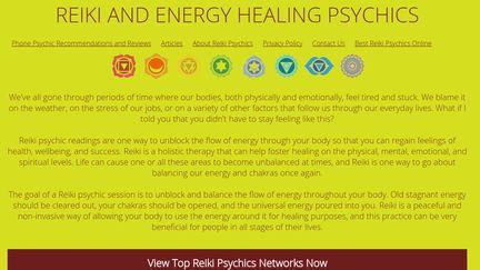 Reiki Psychics
