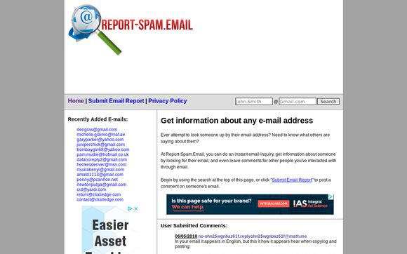 Report-spam.email