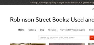 Robinson Street Books