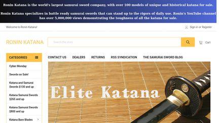 Roninkatana.com