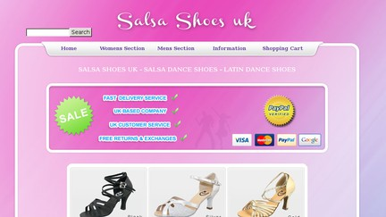 Salsashoesuk.co.uk