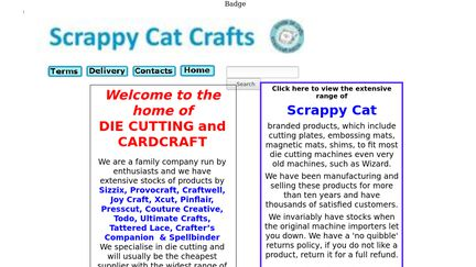 Scrappy Cat Crafts