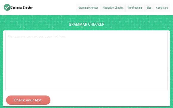 Sentence Checker/Corrector