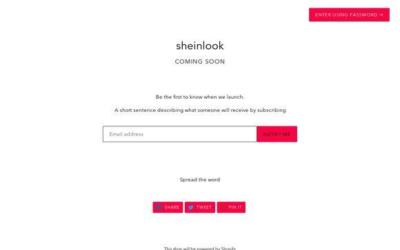 Sheinlook