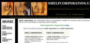Shelfcorporation.us