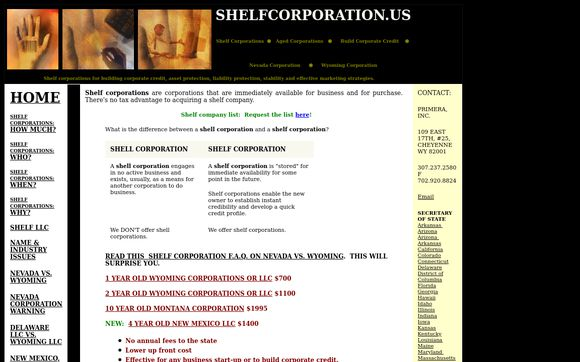 Shelfcorporation.us