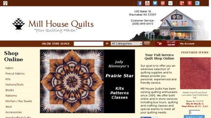 Shop.millhousequilts.com