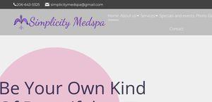 Simplicitymedspa.com