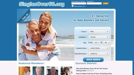 internet dating sites for over 60 gode ting at skrive på dating hjemmesider