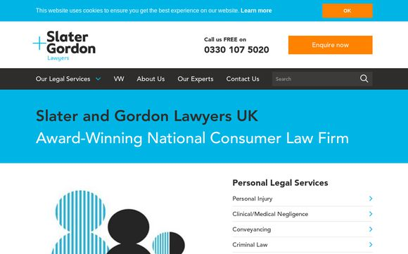 Slater and Gordon Lawyers UK