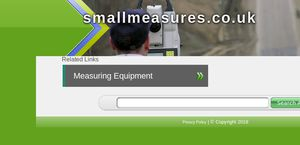 Small Measures