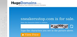 Sneakersstop